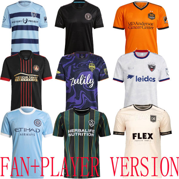 2021 DC UNITED LOS ANGELES LA GALAXY inter Miami CF Sporting Dynamo Kansas City soccer jerseys PLAYER VERSION Atlanta Seattle Sounders lafc New Houston York FC NYCFC