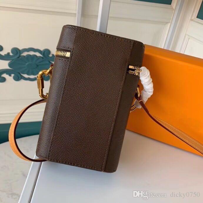 Chain purse Mini phone box designer satche Designer clutch Box classic Handbags Evening Bags Leather Cross Body Messenger Shoulder Bag