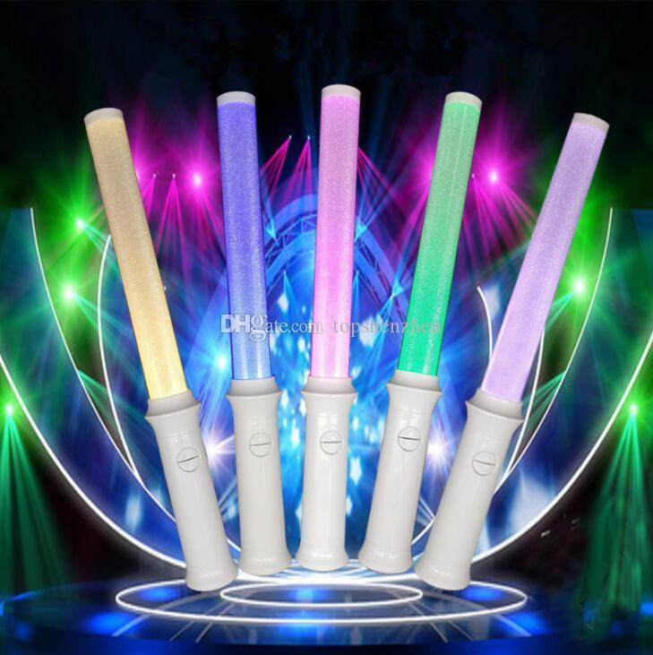 New Version Flashing 35x3CM LED Glow Stick variable Shining Led light stick Shining infinity color for japan quality