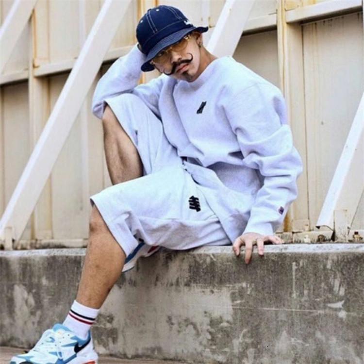 21ss fashion Vintage high quality mens autumn winter Sweatshirt print lovers men and women leisure