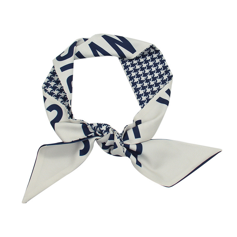 Designer Fashion Headband Luxury Brands scarf Women Silky Scraves Top Grade Silk Hair Bands 5.8*97cm