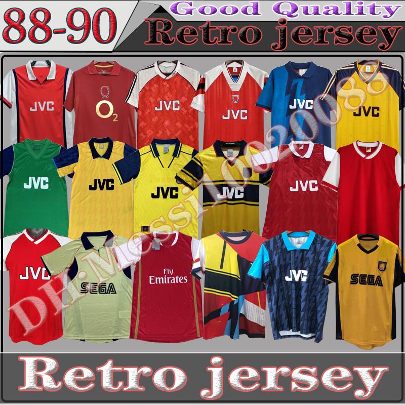 05 06 HENRY BERGKAMP V. PERSIE Mens RETRO Soccer Jerseys 91 93 VIEIRA MERSON ADAMS Home Away 3rd Football Shirt Short Long Sleeve Uniforms