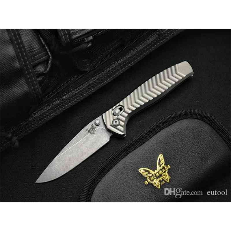 BENCHMADE-Kesiwo Limited Edition AXIS 781 940 3300 D2 Steel Aluminum handle camping Hunting Knives SPIDER C81 BM42 EDC Tool