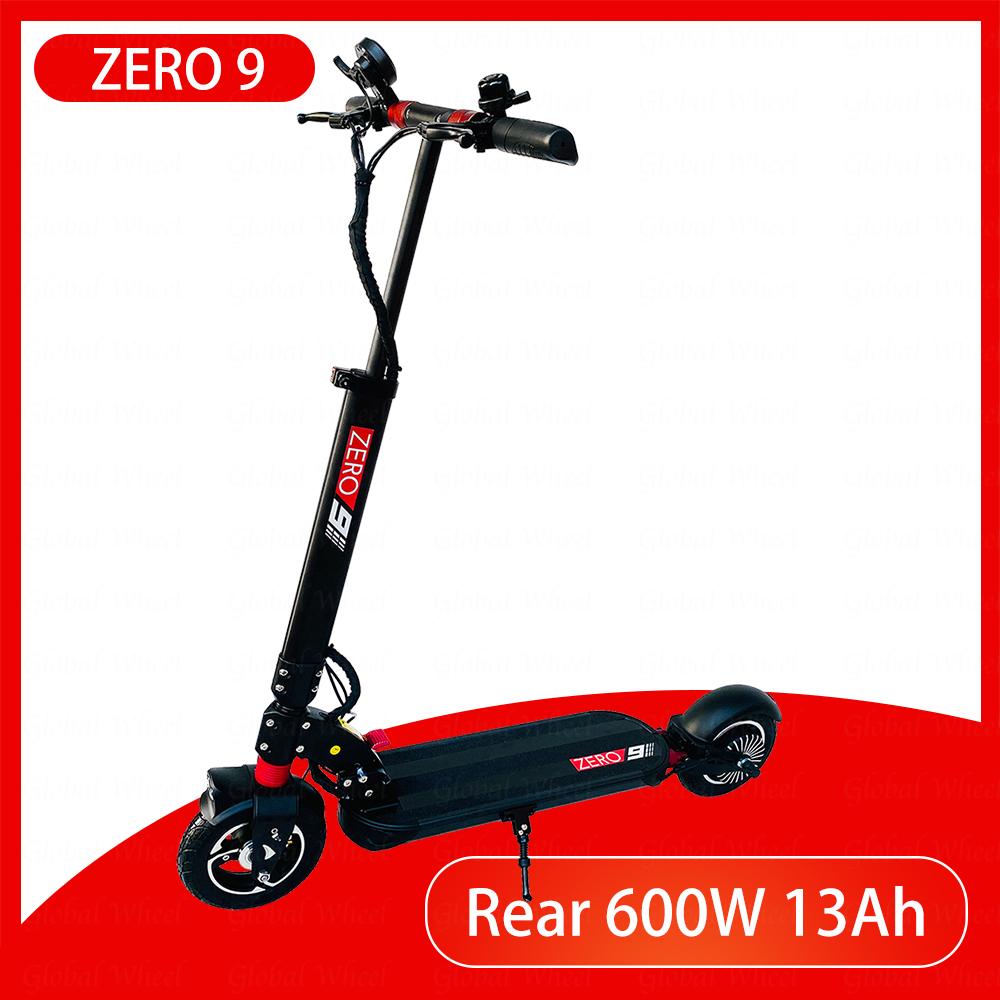 ZERO 9 Electric Scooter Single Motor 52V 13Ah LG Rear 600W Two Wheel Kickscooter Original
