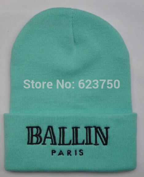 c9587399da5 Wholesale-2015 Winter New Color BALLIN PARIS Beanies Knitted ...