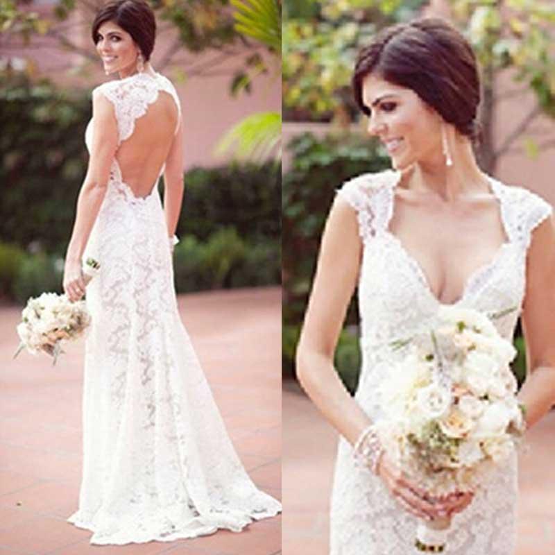 Discount Sexy Bride Reception Dresses Sexy White Bride Reception