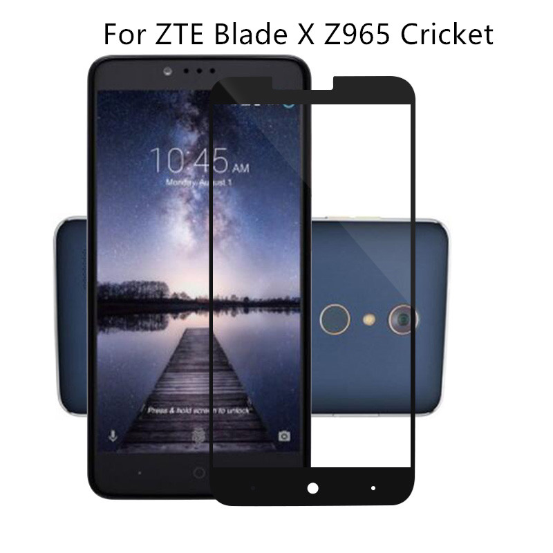 ZTE MAX Blue Z986DL Screen Protector Premium Real Anti-Scratch Anti-Shatter Tempered Glass Screen Protector Film for ZTE MAX Blue Z986DL Smartphone