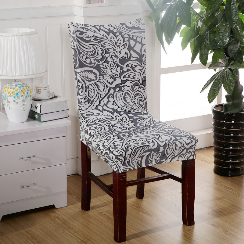 Swell Plum Chair Covers Cheap Jacquard Stretch Chair Covers For Dining Room Decoration Short Half Machine Washable V55C Dining Chair Slipcovers Slipcover Creativecarmelina Interior Chair Design Creativecarmelinacom