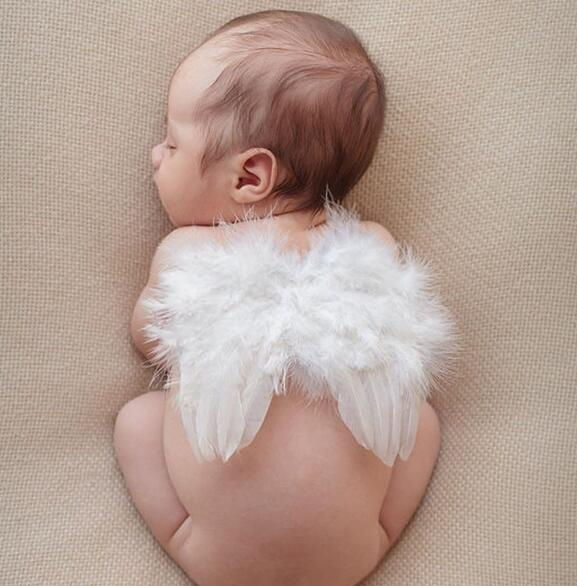 Kids Baby Infant Fancy Party Fairy Feather Angel Wings Cosplay Christmas Costume