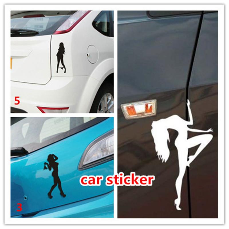 Ford Girl car window Sticker