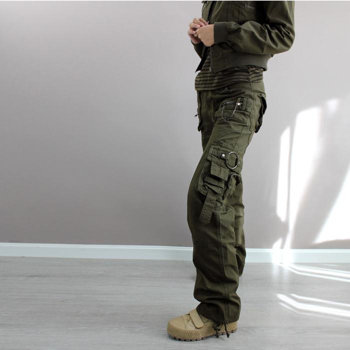 Wholesale-Outdoor Climb Army green fatigue cargo baggy pants ...