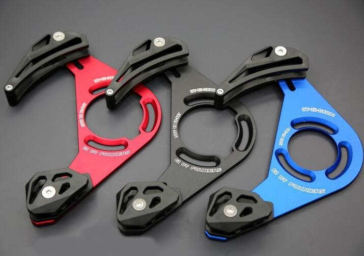 FOURIERS ROAD BIKE CHAIN DROP CATCHER KEEPER FOR CHAINRING CHAIN GUIDE BLING