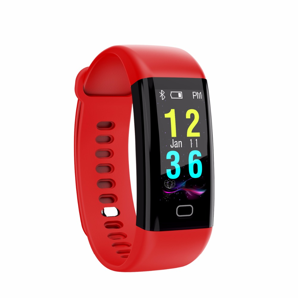 Fitness Bands You Can Swim With: F07 0.96 OLED Color Screen Bluetooth Smart Band Bracelet