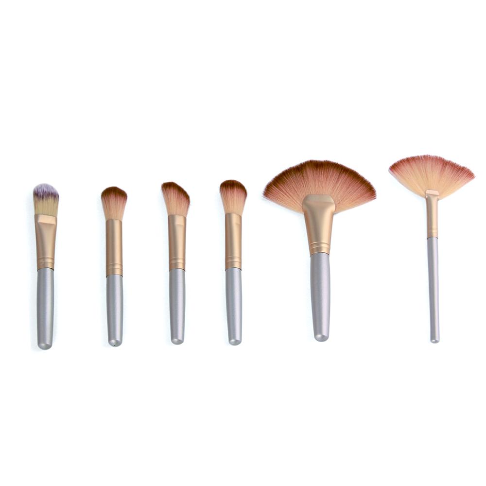 Professional Soft Champagne 32pcs Makeup Brushes Set Beauty Cosmetic Real Make Up Tools Eyeshadow Blush Set With Brush Bag (9)