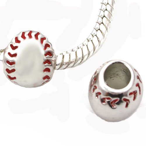 pandora baseball charm