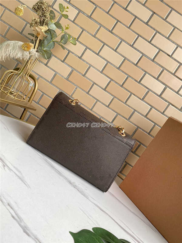 2021 Fashion women Shoulder bag real leather red chain bag Crossbody Messenger bag Female handbags