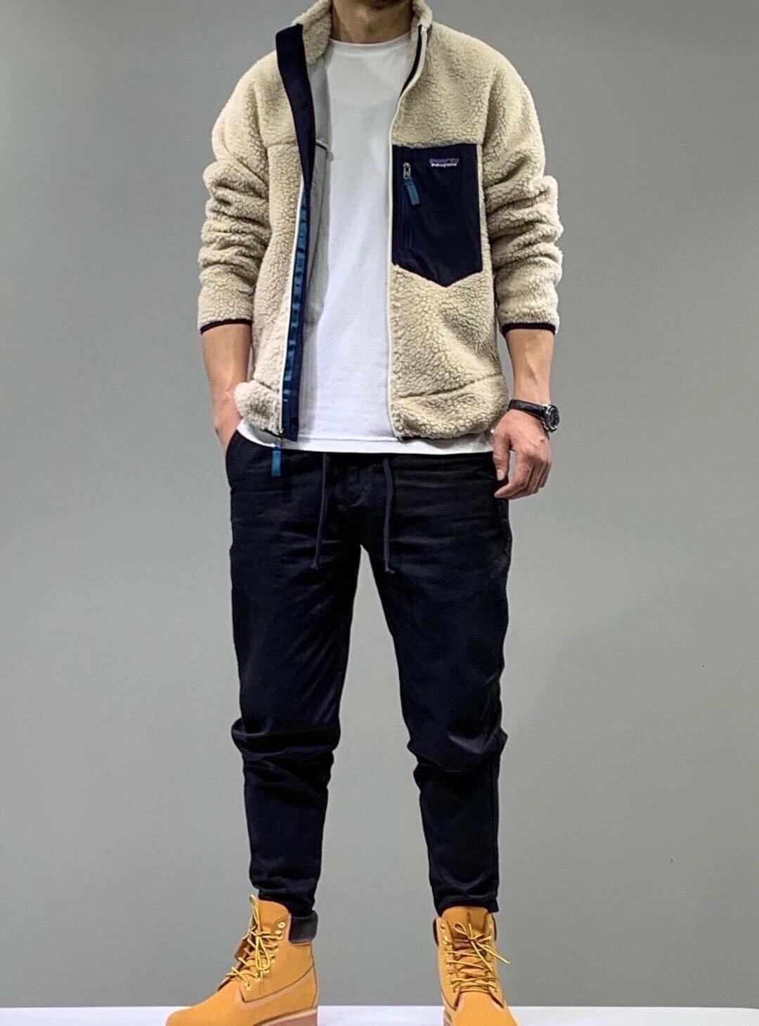 PATAGONIA Thick warm Classic Retro-X autumn winter couple models lamb cashmere fleece coat for men women 7448