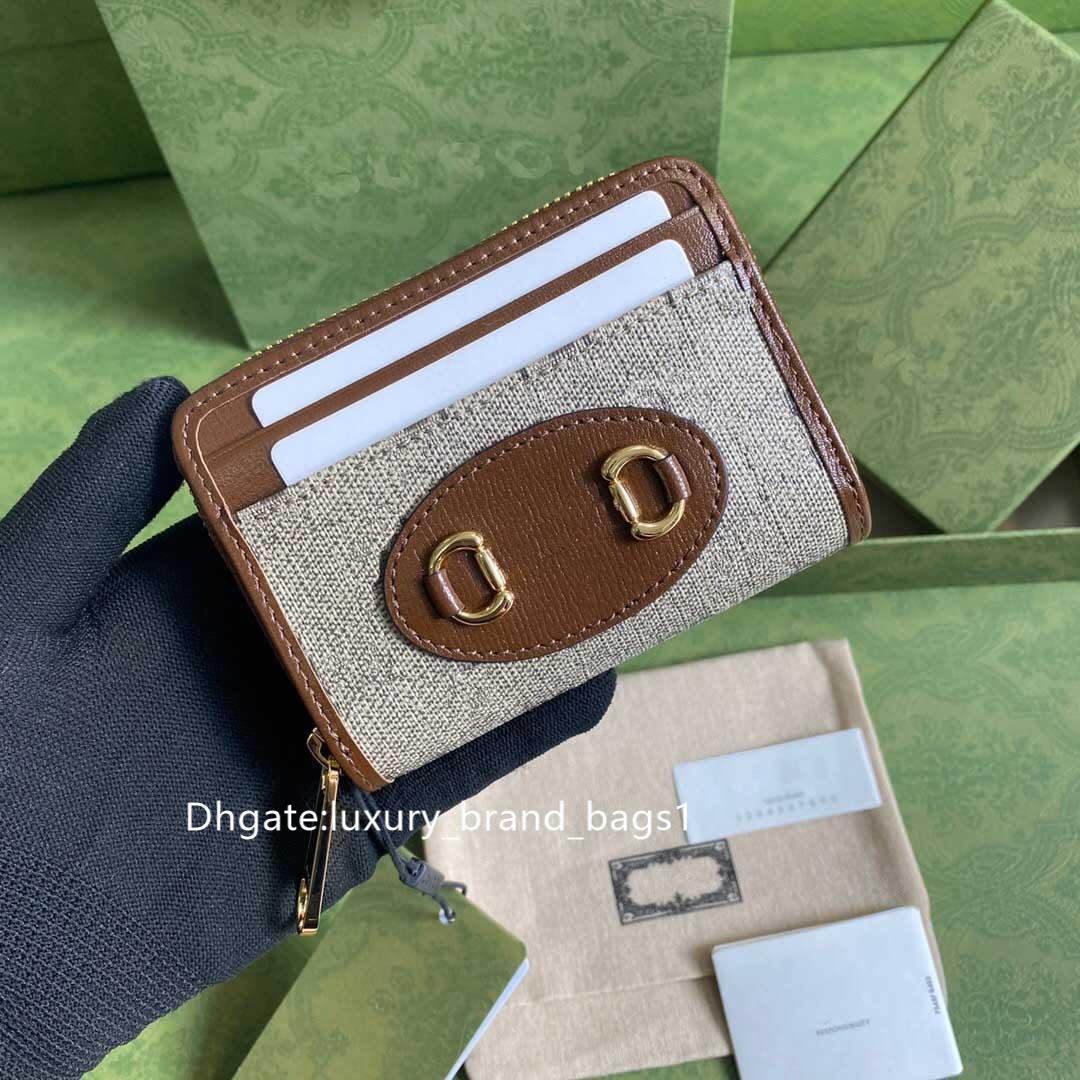wallets men purse 2021 wallet Short clip zippy women classic whosale hotsale Spring summer Fashion single double zippers fold purses Solid color leather with box