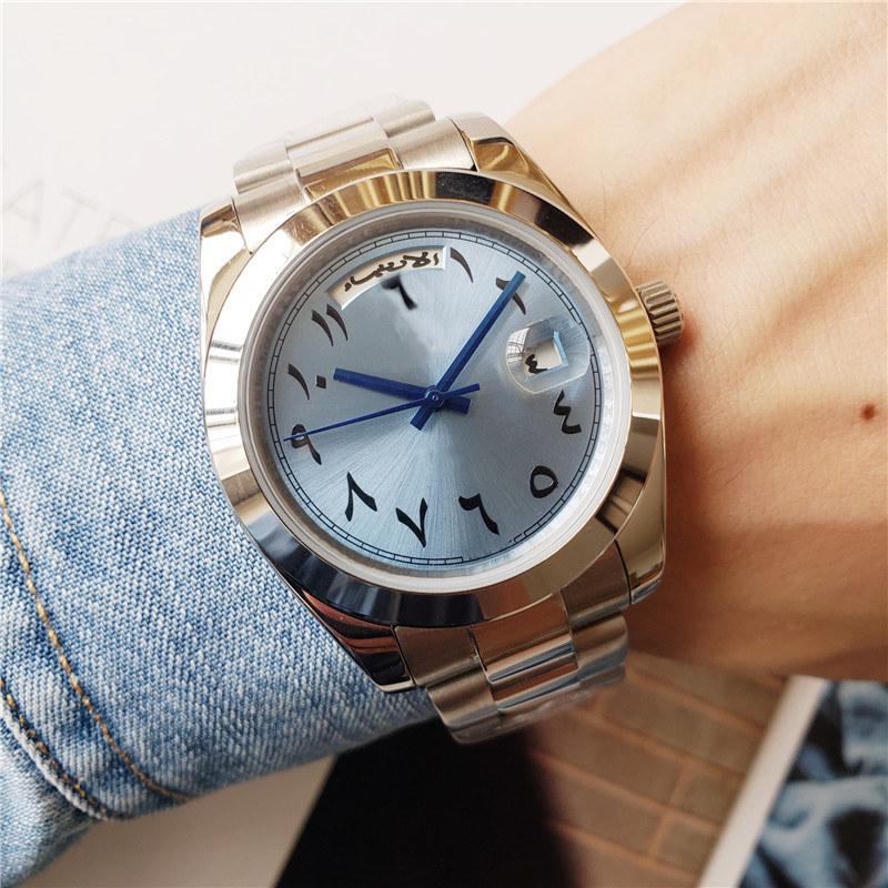 Master design automatic mechanical men's watch, sports luxury fashion dial, automatic calendar L waterproof folding buckle, sapphire glass, star business handbag