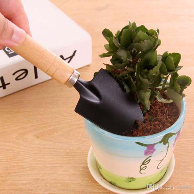 New Creative Gardening Tools Three Piece Mini Garden tools Small Shovel rake Spade Potted Plant Flowers