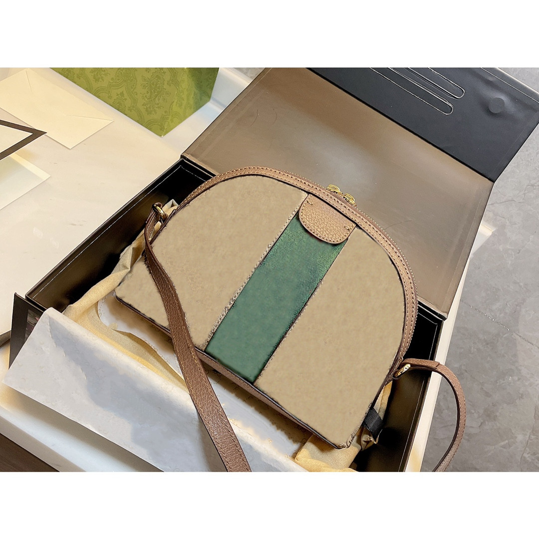 2021 Woman Bag Handbag Purse Genuine Leather High Quality Women Messenger Cross Body Chain Clutch shell Shoulder Bags Free Delivery