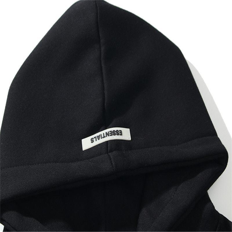 Warm ESSENTIALS Hooded Hoodies Mens Womens Fashion Streetwear Pullover Sweatshirts Loose Hoodies Lovers Tops Clothing