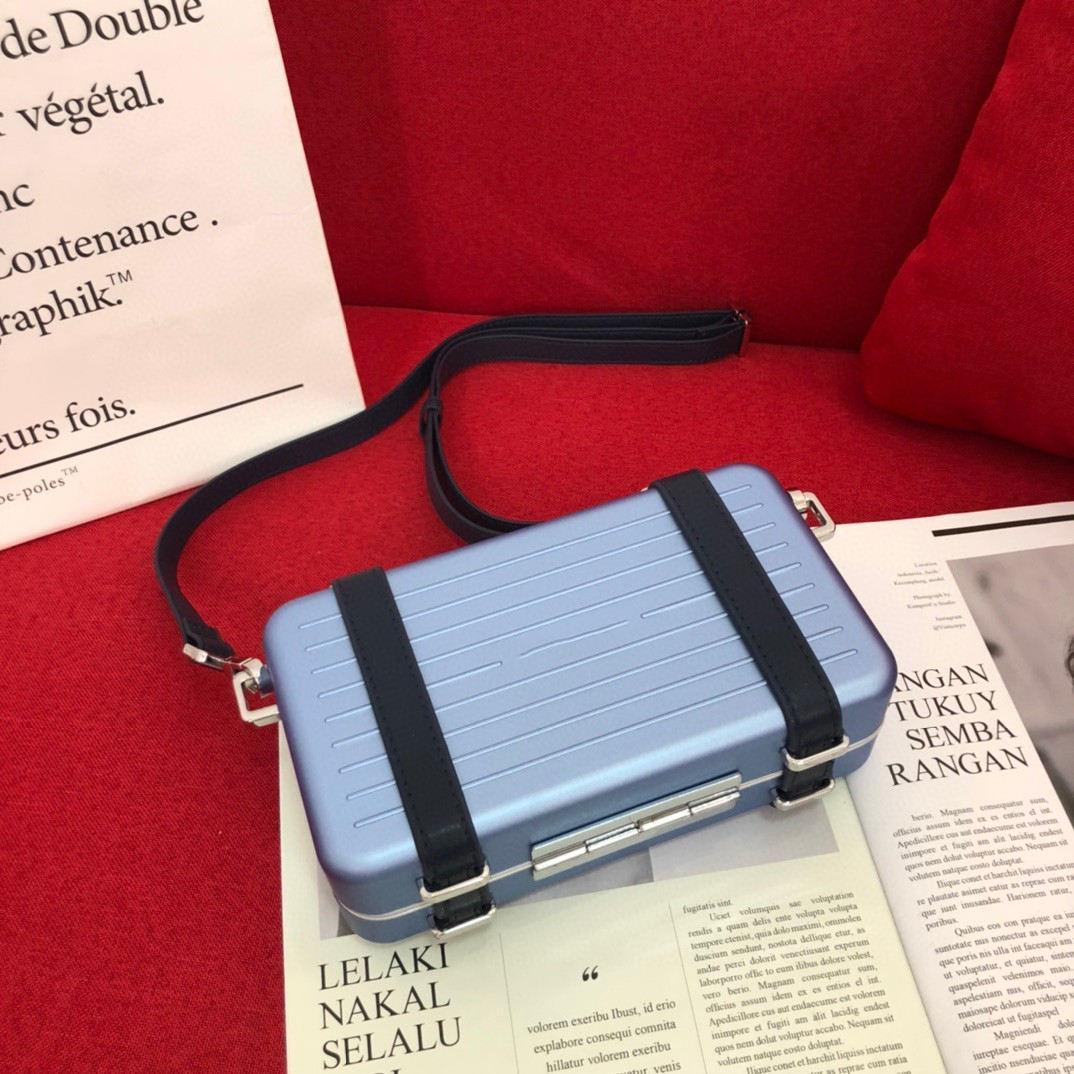 D 3A Quality Luggage Box Camera Hard Box Tile Aluminum Alloy Packet