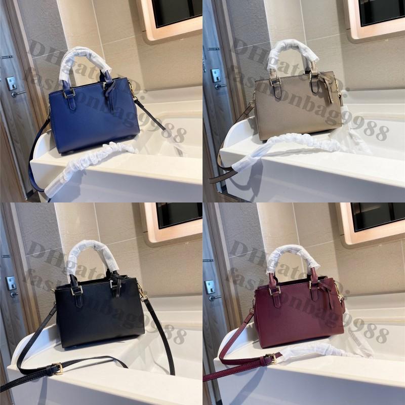 Luxury Designers Women Shoulder Bags Totes 24*12*14 cm Genuine Leather Black Burgundy Ladies Large Capacity Bag Fashion Brand Middle Crossbody Handbags briefcase