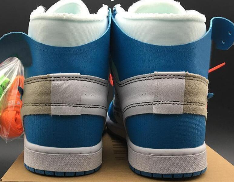 Jumpman 1 1s Off Men Basketball Shoes Sneakers High OG UNC Chicago Low MCA Moma Blue 2.0 X Women Tenis Trainers Shoe