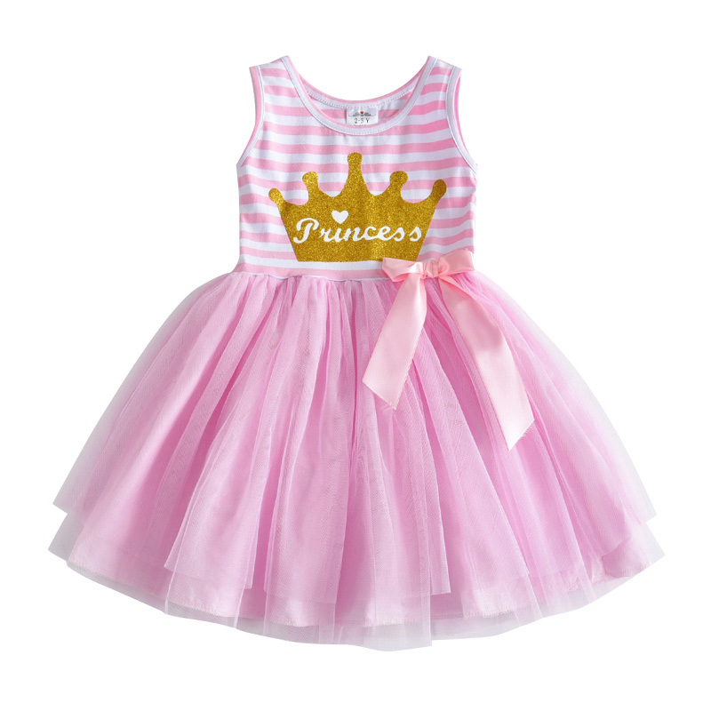 Dxton Girls Summer Dress Butterfly Princess Clothes For Party Bow Tutu Kids Dresses Cartoon Children Costumes Sequin Girls Dress (75)