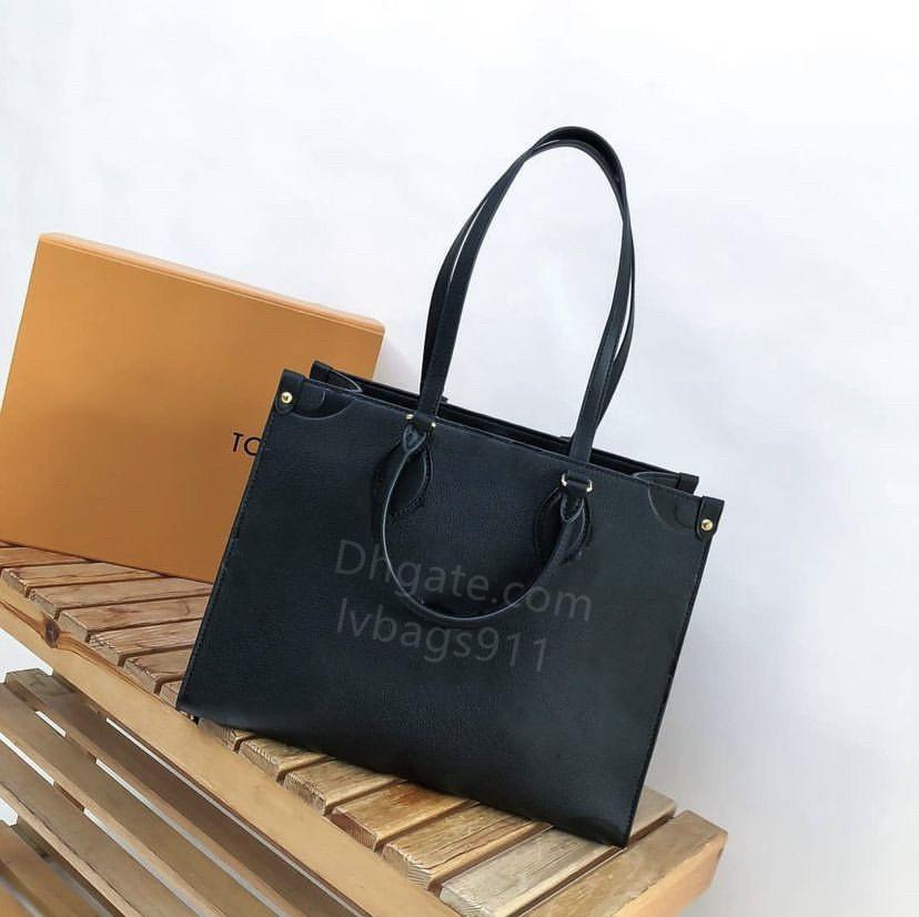 ONTHEGO Handbags luxurys designers Crossbody Bags womens handbags purse tote bag ladies Casual tote PVC leather shoulder tote female Shopping big purse