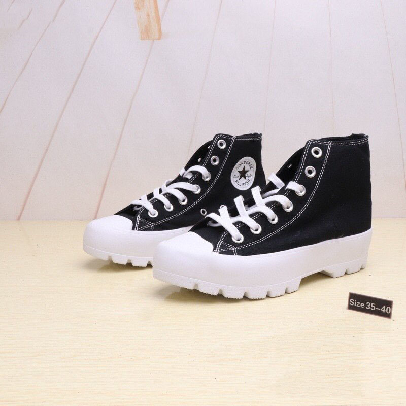 high-quality Chuck leather platform shoes Taylor canvas men and women fashion lightweight shoes ee