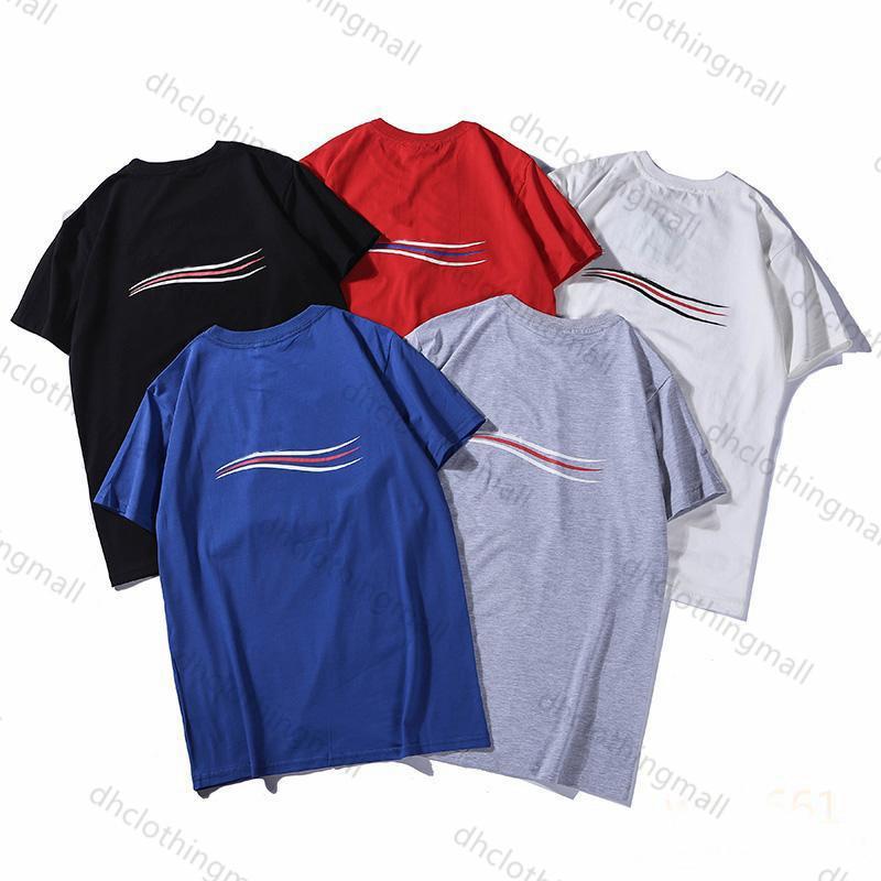 2021 Men Women Designer T shirts Summer Mens T-Shirt Casual Mans Womens Loose Tees Short Sleeve