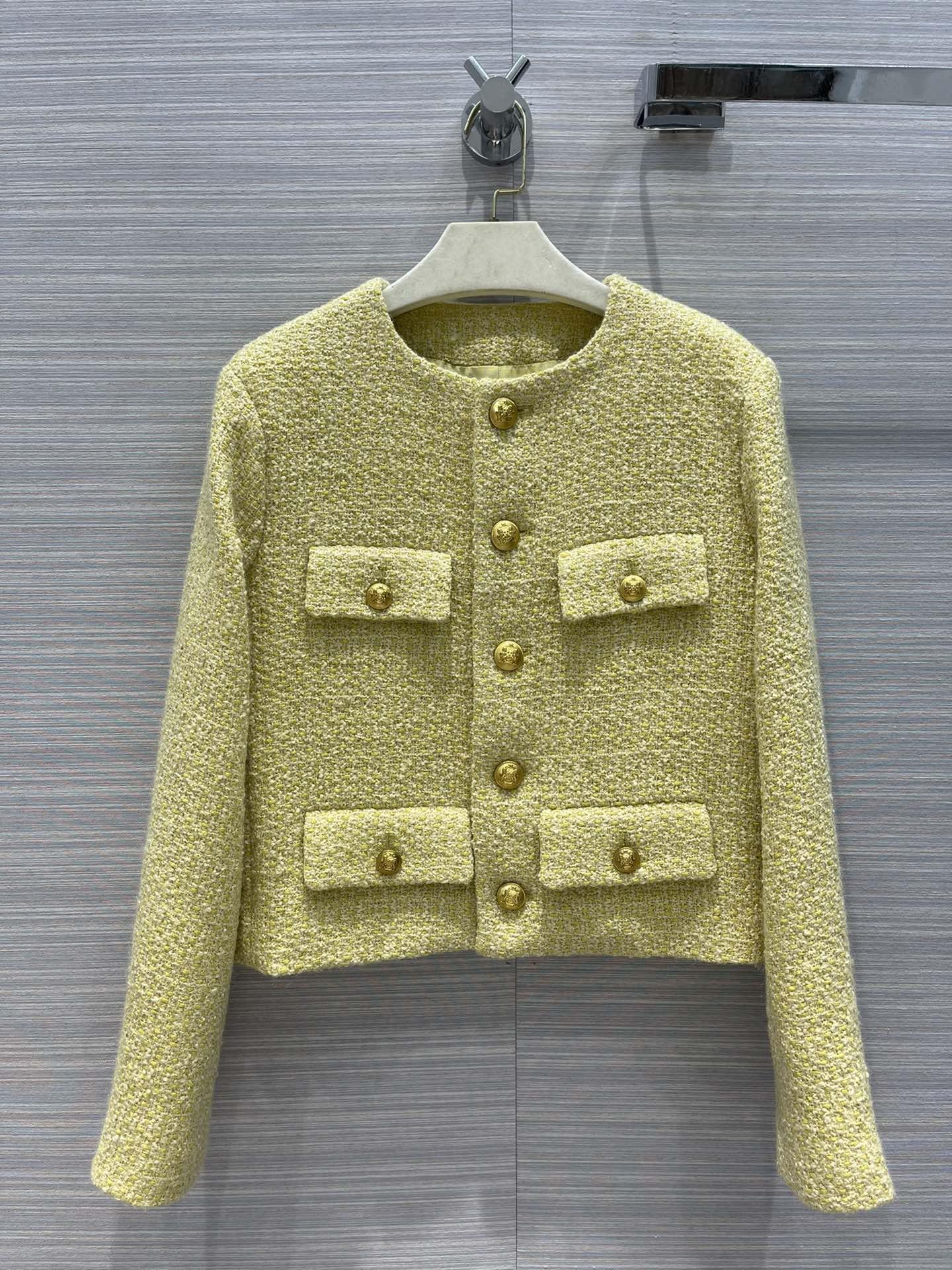 Milan Runway Coats 2021 Long Sleeve Panelled Women's Coats Designer Coats Brand Same Style Jackets 0403-6