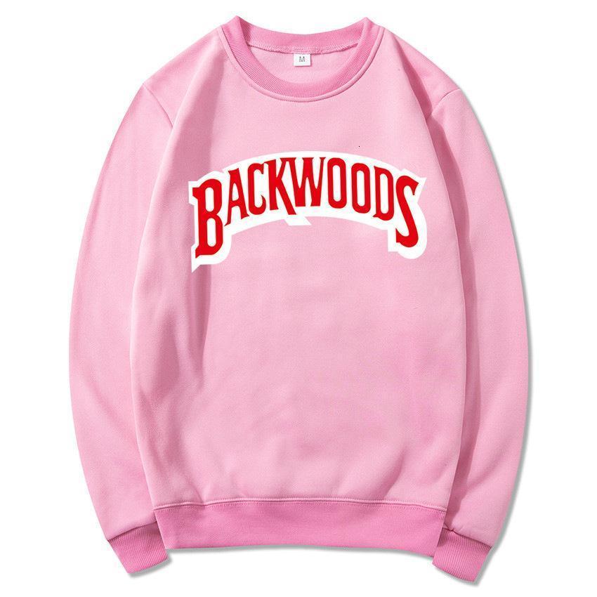 340 Backwoods hoodie Individual Rock Men's T-Shirt Sweater Letter Print Fashion Casual Pullover Sweatshirt Long Sleeve Mens Hoodies