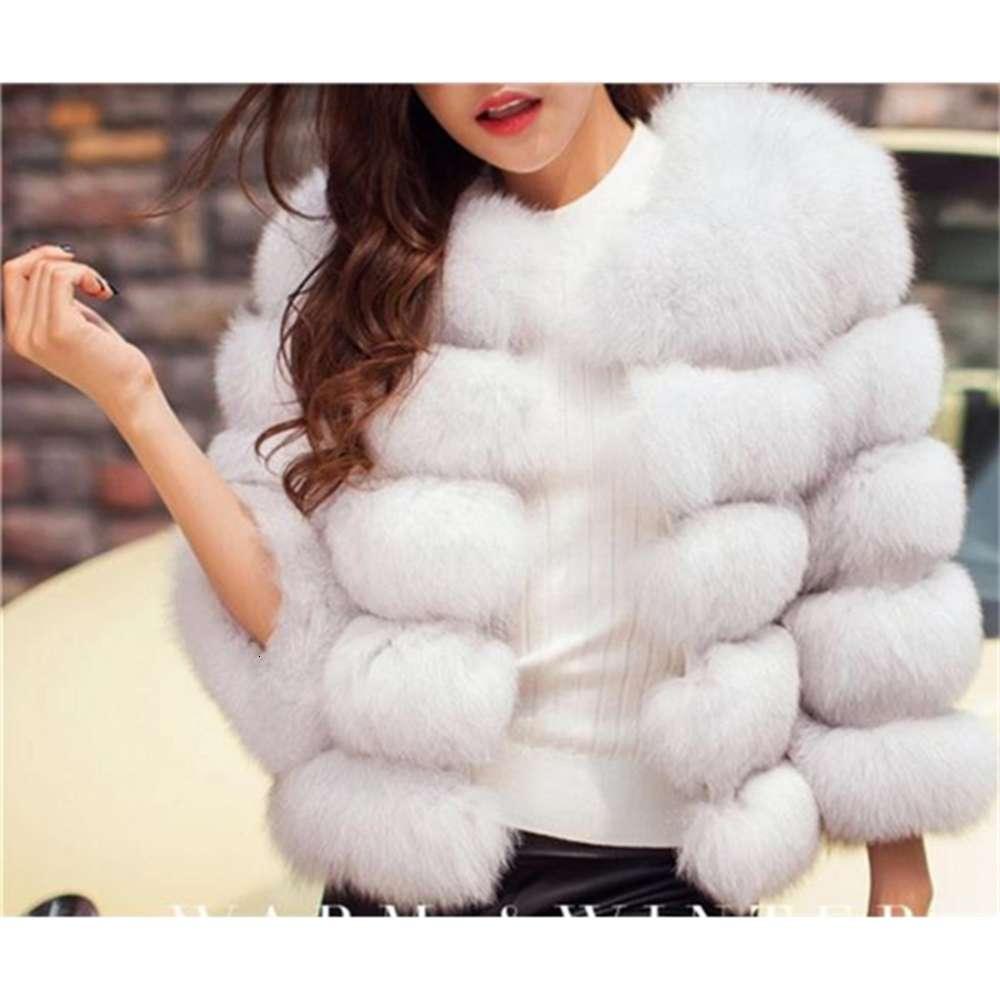Good quality New Fashion Luxury Fox Fur Vest Women Short Winter Warm Jacket Coat Waistcoat Variety Color For Choice
