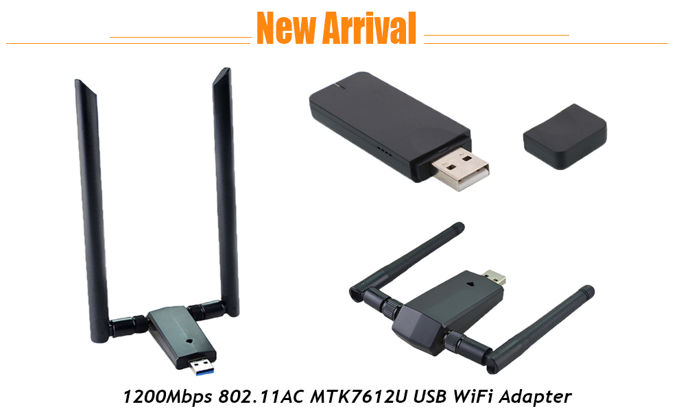 OEM new product wifi direct nano usb adapter ac 1200mbps usb 3.0 interface wifi dongle