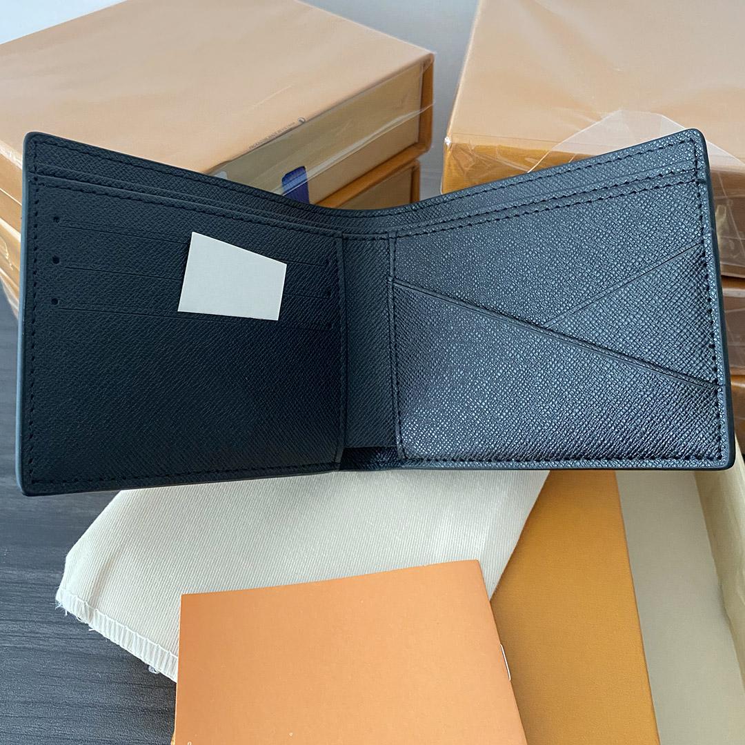 2021 Top Quality Mens Pocket Wallets Paris Fashion Checkerboard Women Wallet Holders Designer Short Card Case luxurious Bag Letters Square Open Standard purse
