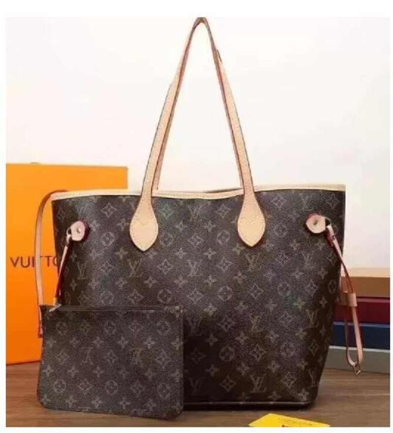 "limited edition GG""LV""Louis…Vutton YSL…VITTON NF design 2pcs handbag for women luxury shoulder bag clutch handbags shopping package tote purse"