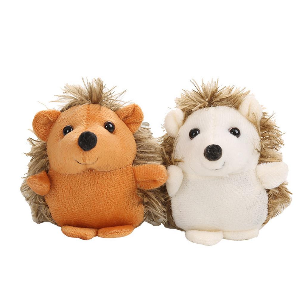 Hedgehog Plush Toy Pendant Doll Cartoon Hedgehog Cute Soft Toy 3.9 inch Toys Stuffed Animals Plush Toys Baby Plush Doll Infant