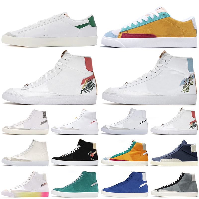 Blazer Mid 77 casual shoes High Have A Good Game Multi Suede Dorothy Gaters Cool Grey blazes men women platform sneakers outdoor designer trainers walking jogging