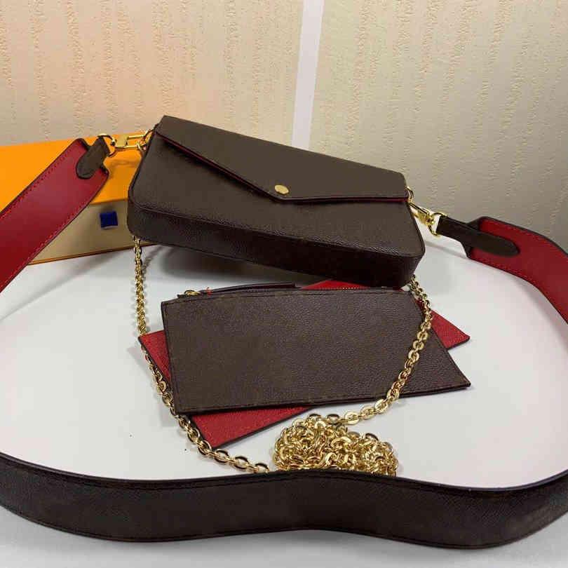 s Mini Shoulder Bags Women Mini Crossbody Bag Floral Letter Genuine Leather High Quality Wallet Handbags 61276