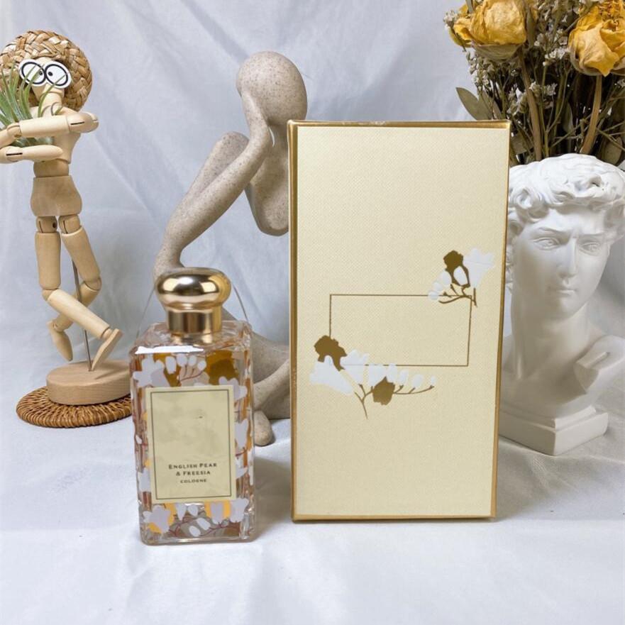 EPACK Top Quality Jo Malone London Perfume 100ml Wood Sea Salt Wild Bluebell English Pear Cologne Perfumes Fragrances For Women