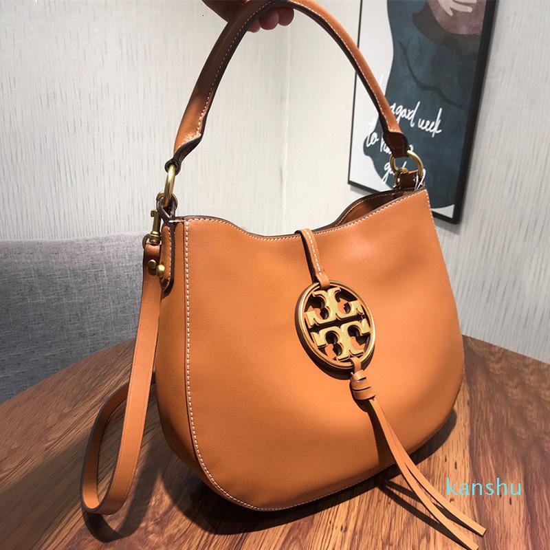 Tb New Miller Hand Napa Cowhide Shopping One Shoulder Messenger Bag Leather Women's Bag1