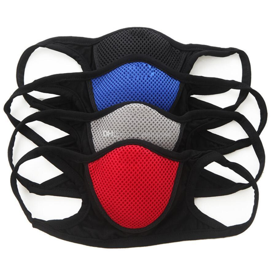 Protective Face Mask Adult Dustproof Cover Masques Full Reusable Masks Anti Dust Breathable Respirator Free Ship Elastic Popular