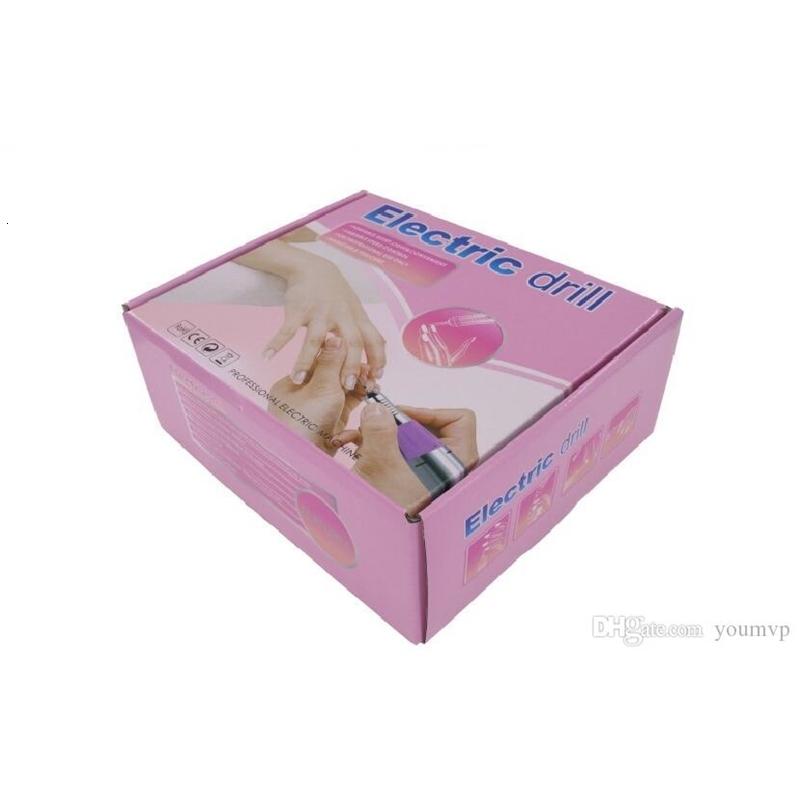 35W 30000RPM Electric Nail Drill Nail Equipment Manicure Machine Tools Pedicure Acrylics Milling Nail Art Drill Pen Machine Set JD700