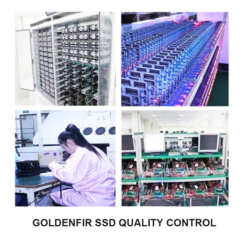 GOLDENFIR SSD QUALITY CONTROL