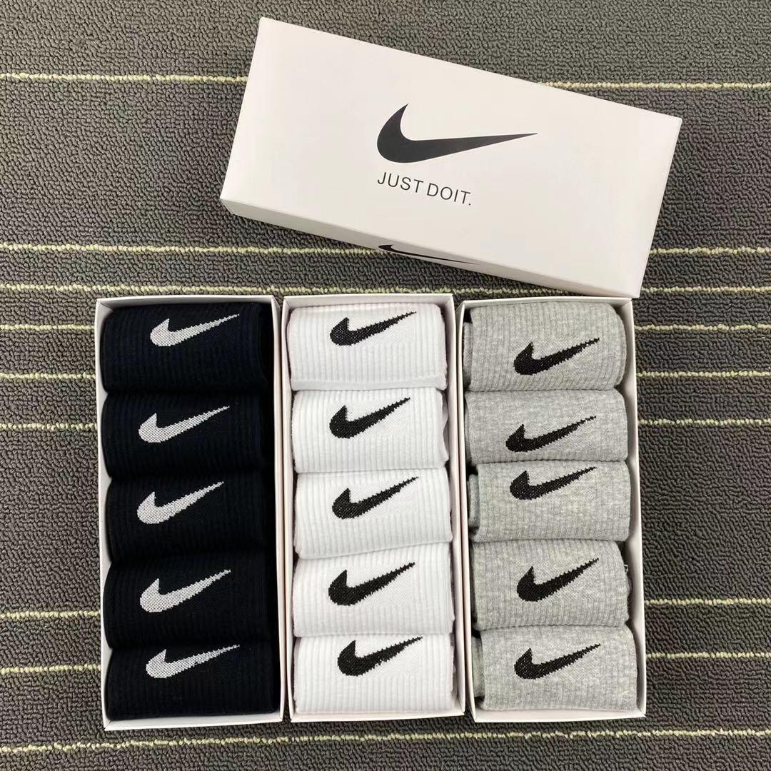 Mens Womens Socks 1/Boxed Spring and Autumn Mid-tube Running Short Comfortable Breathable Factory Outlet