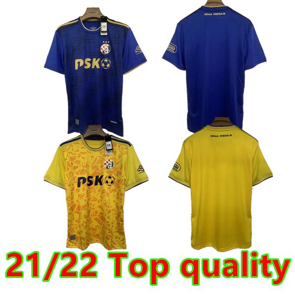 21/22 GNK Dinamo Zagreb Soccer Jerseys 2021 2022 Home Blue ORSIC PETKOVIC PERIC OLMO ADEMI GOJAK Men Football Shirts uniforms