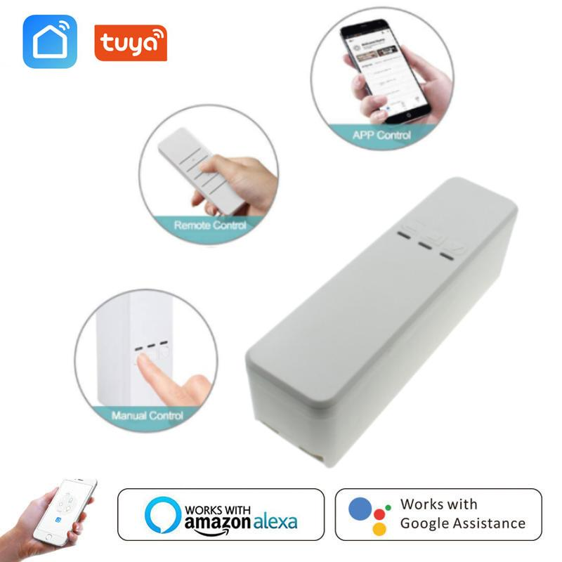 Smart Home Control WiFi Roller Blinds Drive Motor Window Shade Sprocket Tuya/Smart Life APP Remote Work With Alexa Google